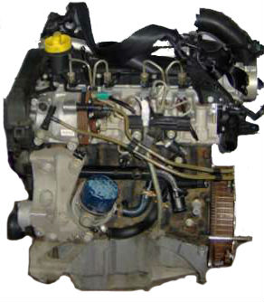 MOTOR RENAULT K9K 704