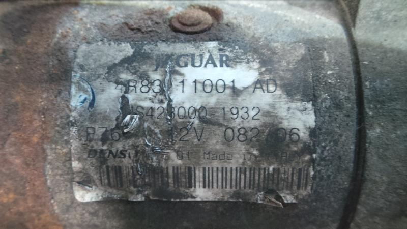 MOTORES DE ARRANQUE 4R8311001AD#00001 - JAGUAR XF XJ 3.0D 2.7D